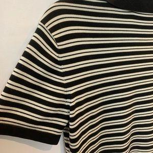 Dkny Tops - DKNY short sleeve knitted polo top